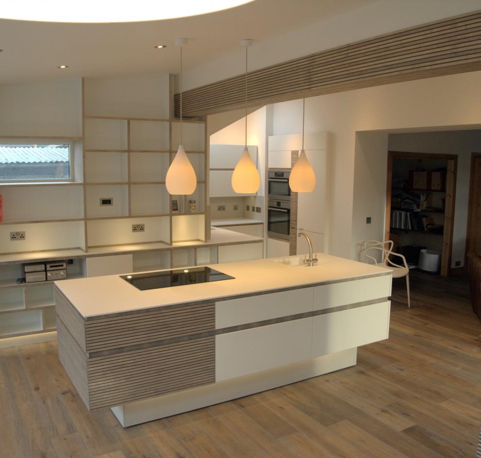 Acrylic  Birch Kitchen Makewoodcom - Kitchen design scotland